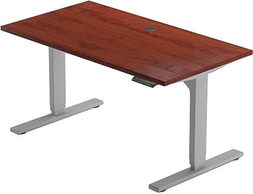 PROGRESSIVE AUTOMATIONS 47″ Apple/Grey Standing Desks