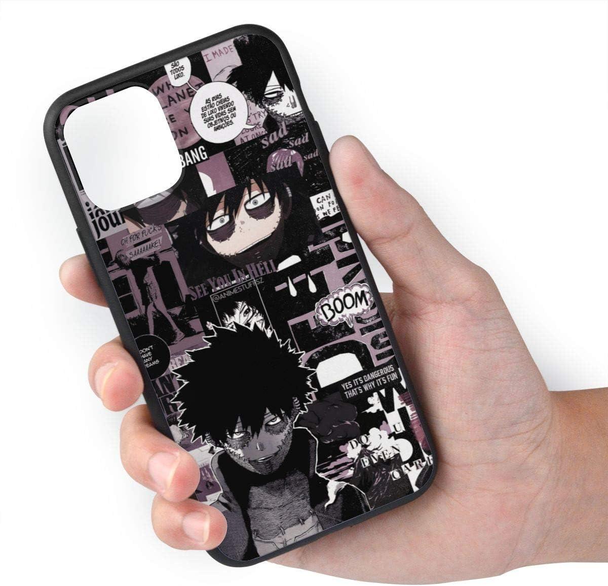 Dabi Boku No Hero Academia Manga Phone Case Transparent Soft For iPhone 12 Pro Max 11 X Xs Xr Max My Hero Academia iPhone Case