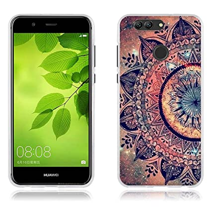 FUBAODA Huawei Nova 2 Plus Funda TPU de Gel de Silicona ...