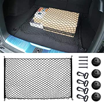 Moto Luggage Nylon Net Hold Bag Multifunction Storage for Car Accessories