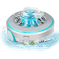 Cordless Automatic Pool Cleaner, IPX8 Waterproof Strong Suction Rechargeable Lightweight Pool Cleaners Robotic Vacuum…