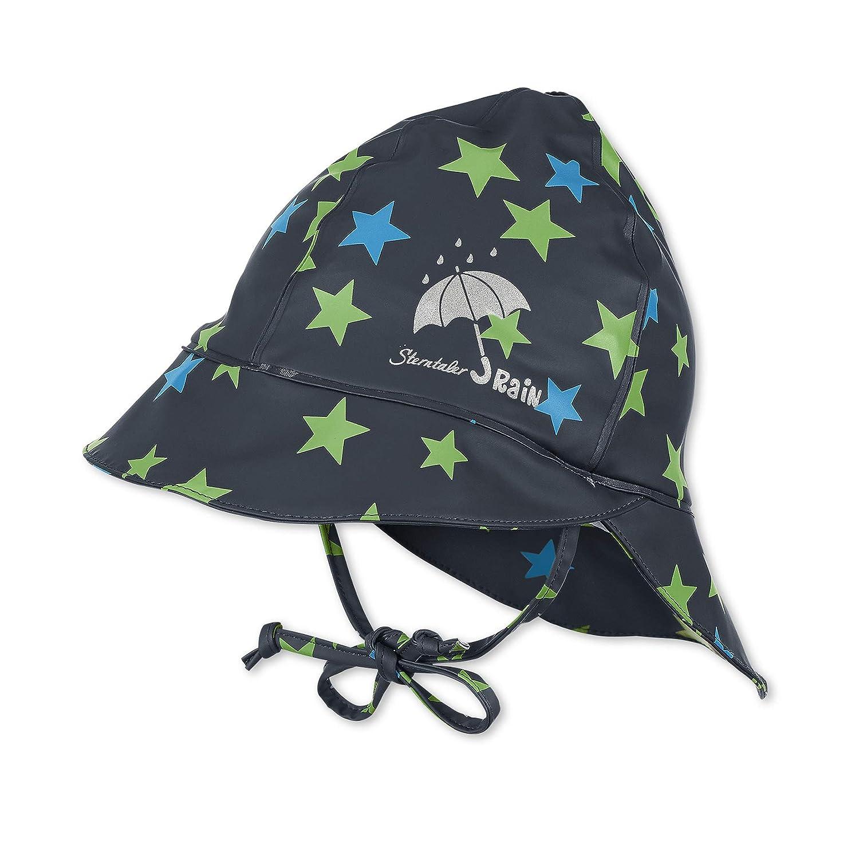 Sterntaler Cappello antipioggia per bambini con protezione sul collo