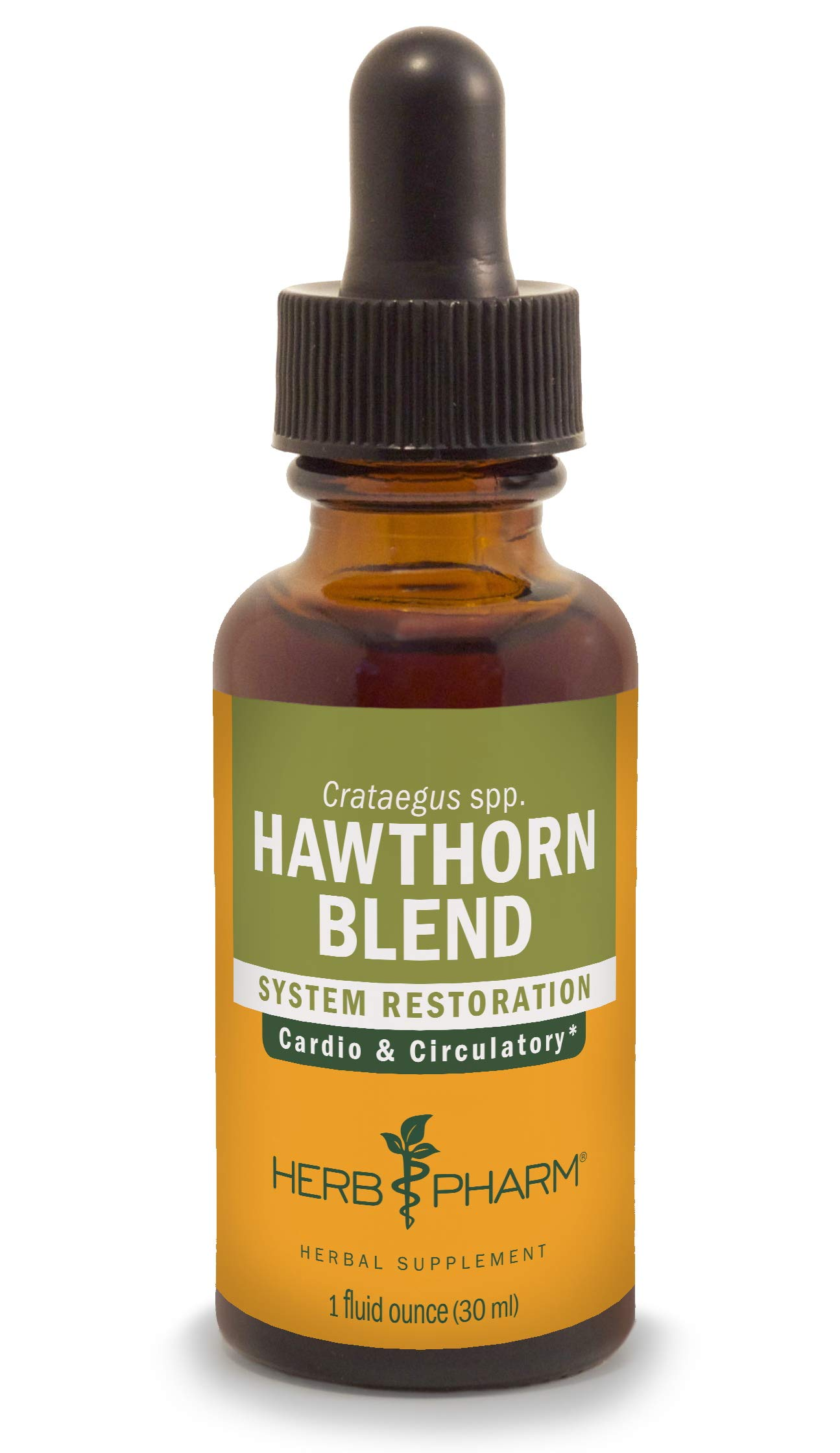 Herb Pharm Hawthorn Blend Liquid Extract for Cardiovascular and Circulatory Support - 1 Ounce