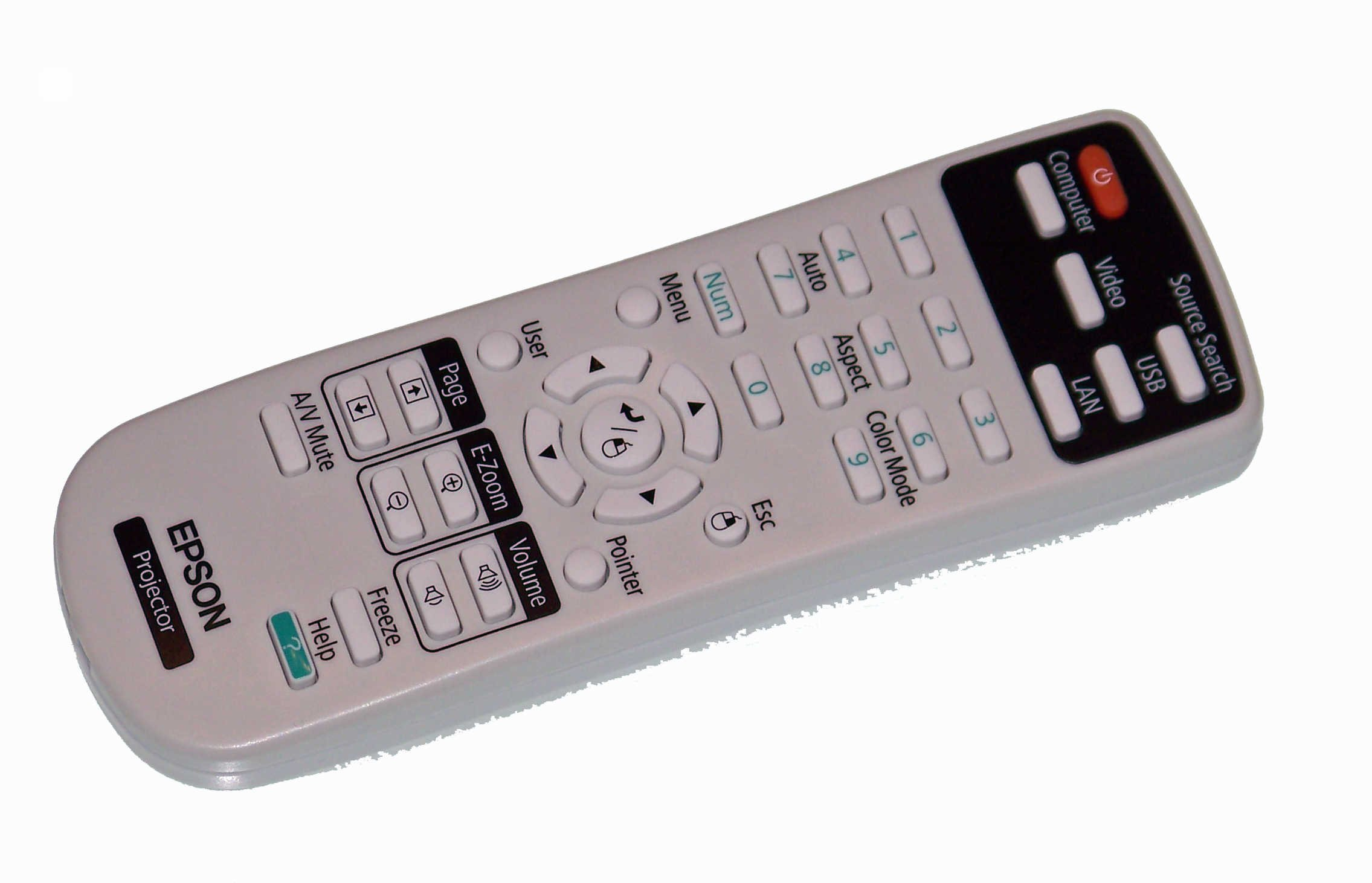 OEM Epson Remote Control: PowerLite Home Cinema 500, VS220, VS320 by Epson