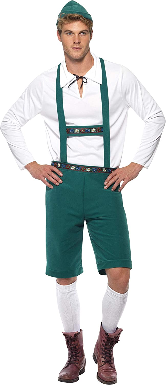 Amazon.com: Smiffy s – Disfraz de hombre Oktoberfest ...