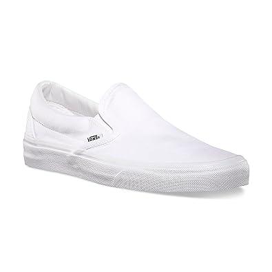 278979b205069 Vans Unisex Slip-On True White VN000EYEW00 Skate Shoes