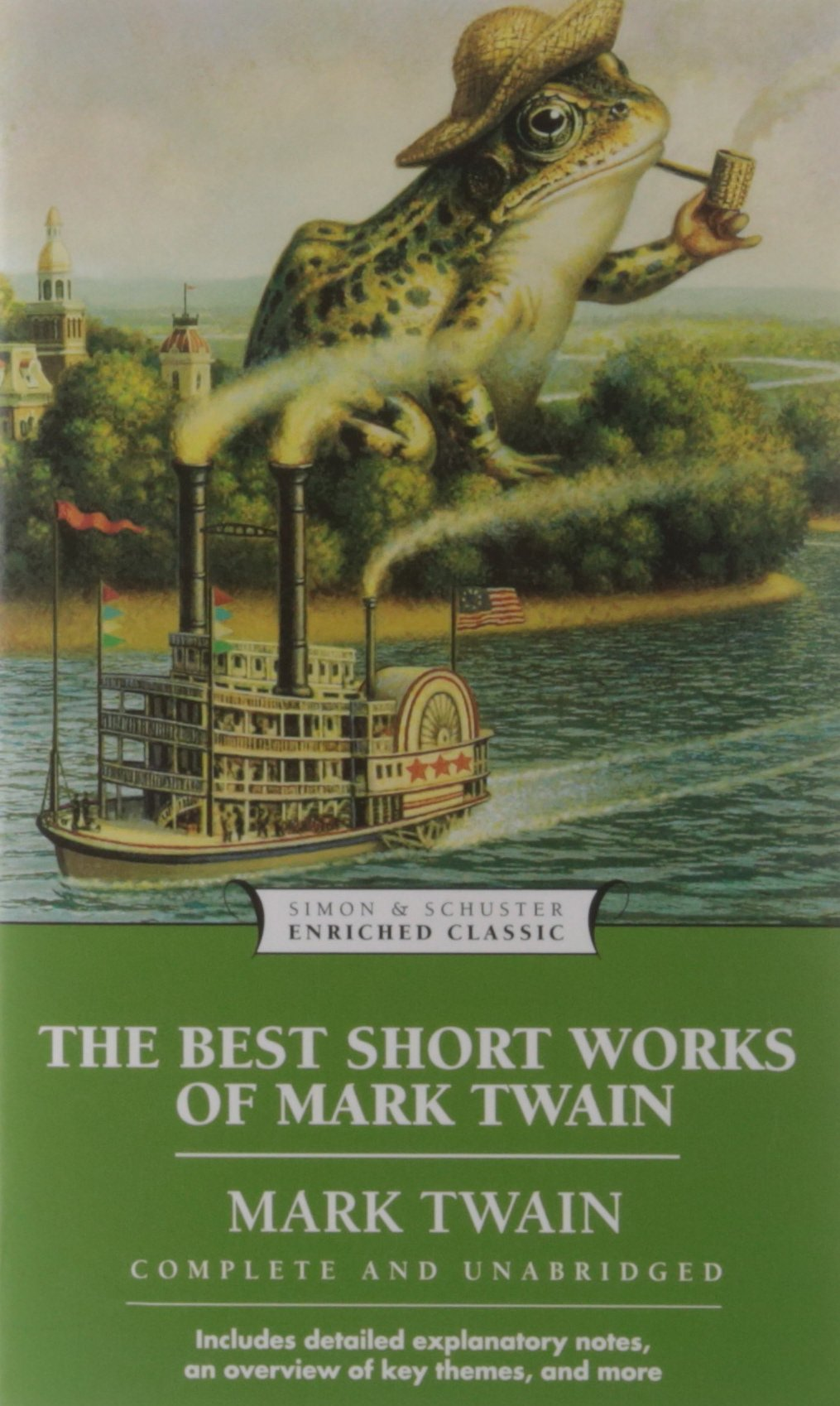 Read Online The Best Short Works of Mark Twain (Enriched Classics) ebook