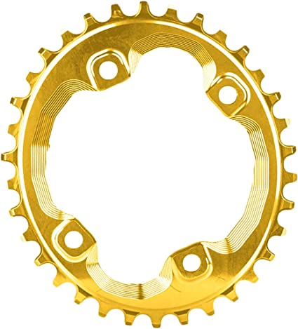 absoluteBLACK Oval XT M8000 96BCD Narrow Wide Chainring Gold