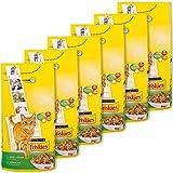 Friskies Chat Croquettes pour chat adulte Lapin, Poulet & Légumes ajoutés 2 kg - Lot de 6 (12 kg)