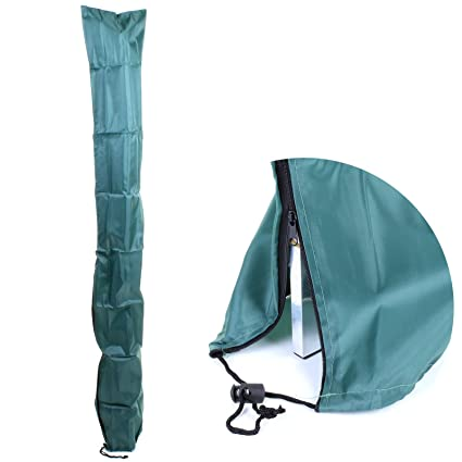 KD & JAY Green Rotary Dryer Washing Clothes Line Parasol Cover Waterproof &  UV Protection