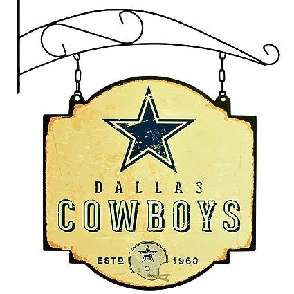 Amazon.com: NFL Dallas Cowboys taberna Sign, Las pequeñas de ...
