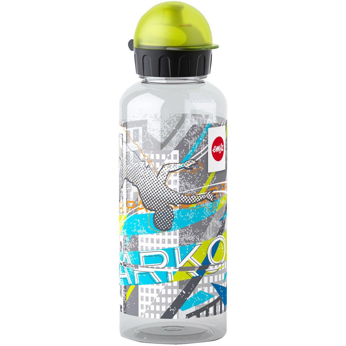Multicolore Tappo-Beccuccio Emsa 518133 Teens Tritan Bottiglia 7.5 x 7.5 x 21.4 cm Decorazione Parcours