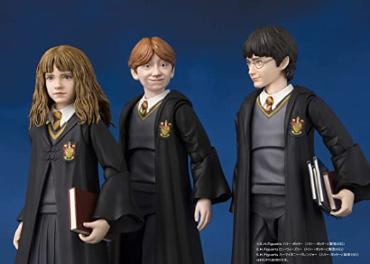 Bandai- Ron Weasley Figura 12 Cm (Harry Potter and The Phi, Multicolor (Tamashii Nations BAS55109)