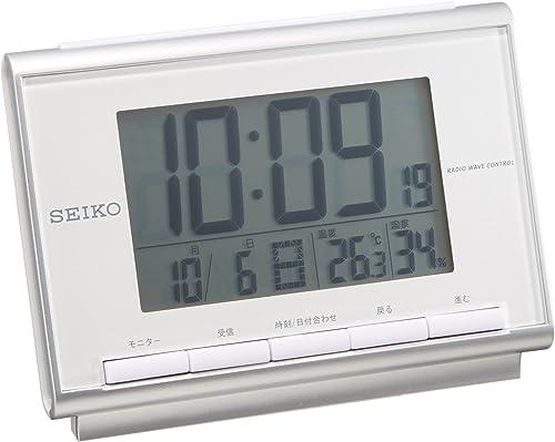 Clock Seiko Seiko Alarm Clock Digital Radio Clock SQ698S