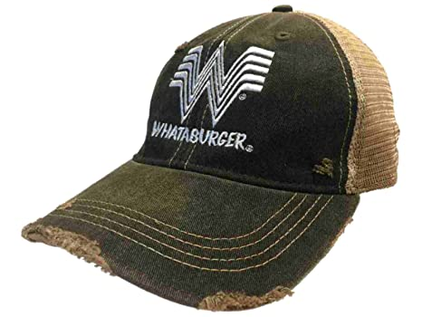whataburger restaurante retro marca gris gorra Trucker gorro de ...