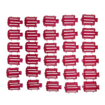 Sharplace 30 Unids Rizador de Pelo Sin Calor Pelo Rizado Varita de Rodillo Uso para Pelo