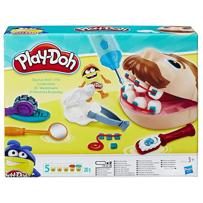 Games Tozudo (Hasbro 48380B09) + Play-Doh PDH Core Dentista ...