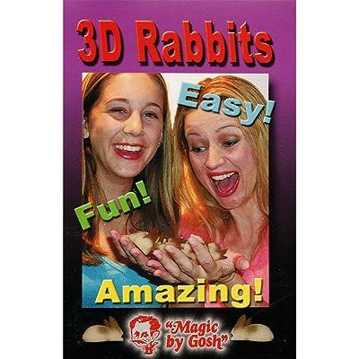Murphy's Magic 3D Rabbit Set by Goshman - Trick: Toys & Games