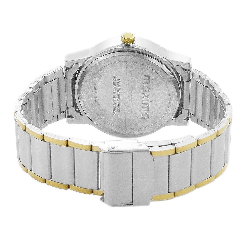 Maxima Attivo Day-Date White Dial Men -O-46930CMGT