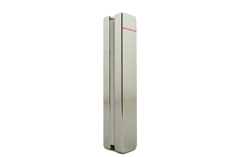Bar Magnet – Super Strong 3' x ½' x ¼' - 2 Pc Set - N45 Grade Rare Earth Block Magnets   Jamika Products Neodymium Magnets JP-BM3-2-1609