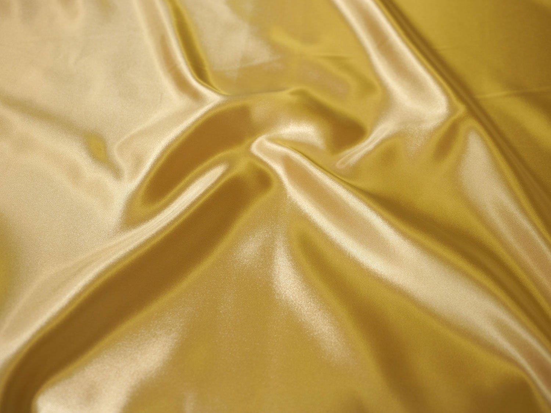 Marushin Shoji Satin Unigewebe 100% Polyester ca. 116cm X3m Breite X3m 116cm geschnitten col.30 Gold-1000 4341d8