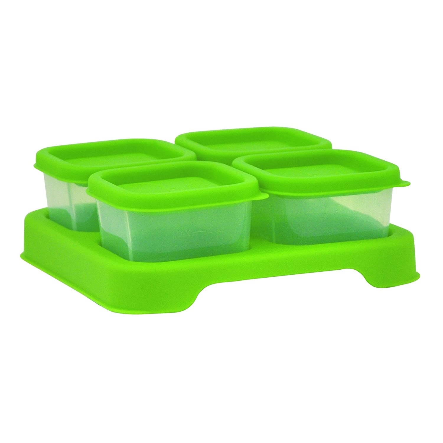 Amazon.com : green sprouts Fresh Baby Food Unbreakable Cubes, Green, 2 Ounce : Baby