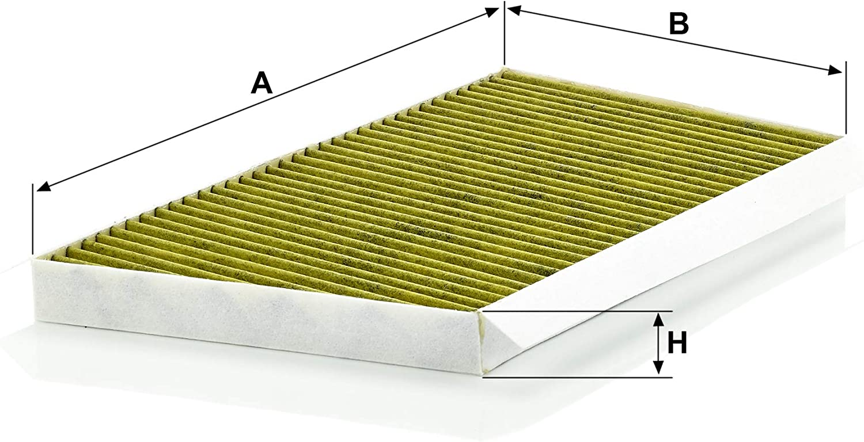 For cars MANN-FILTER FP 3461 Original Cabin Air Filter FreciousPlus biofunctional pollen filter