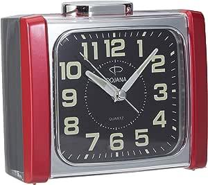 Dojana Alarm Clock, Dak013 Gold White, Plastic