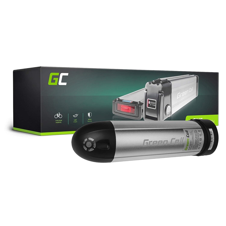 Green Cell EBIKE 36V 11.6Ah Batería Pedelec Bottle Li-Ion con Celdas Panasonic Argento Wild Speedy ENIK Xplorer Breeze Agogs Bicicleta Eléctrica Green Cell PRO EBIKE27_ES_50