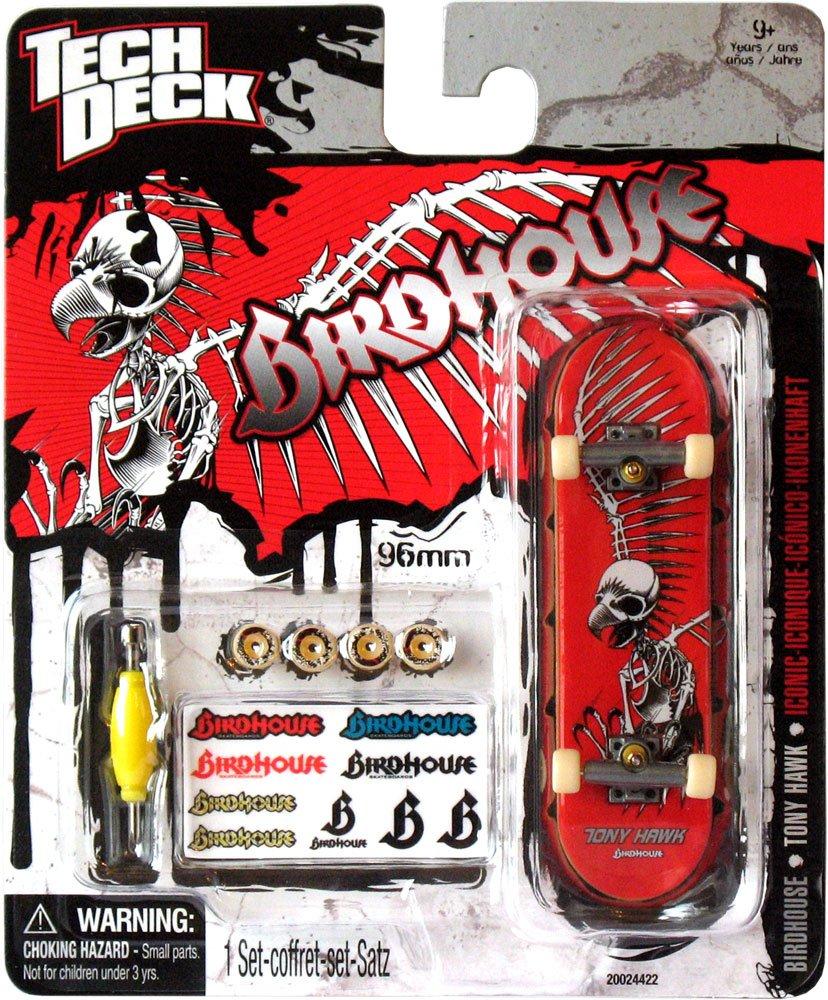 Tech Deck 96mm Fingerboard Birdhouse Skateboards Miniature Tony Hawk Pro Model Skateboard Iconic Design Toys Games