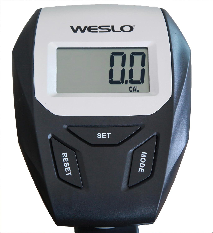 Weslo Re 60 Bicicleta estática Semi-allongé Unisex, Gris: Amazon ...