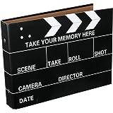 [Fujifilm Instax Mini Foto Álbum] - CAIUL 50 Páginas DIY Álbum para Fujifilm Instax Mini 70 7s 8 8+ 9 25 26 50 90/Pringo 231/Instax SP-1/Polaroid PIC-300P Z2300 Film (Tablilla de la Película)