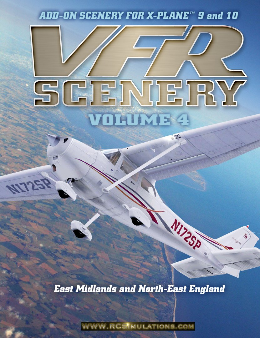 X-Plane VFR Scenery - Volume 4: East Midlands and North-East