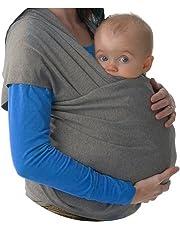 Fular portabebés elastico para llevar al bebé, ajustable, para hombre y mujer