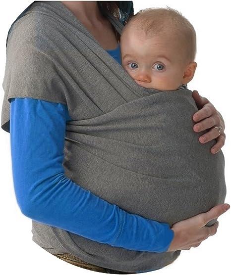 Fular portabebés elastico para llevar al bebé, ajustable, para ...
