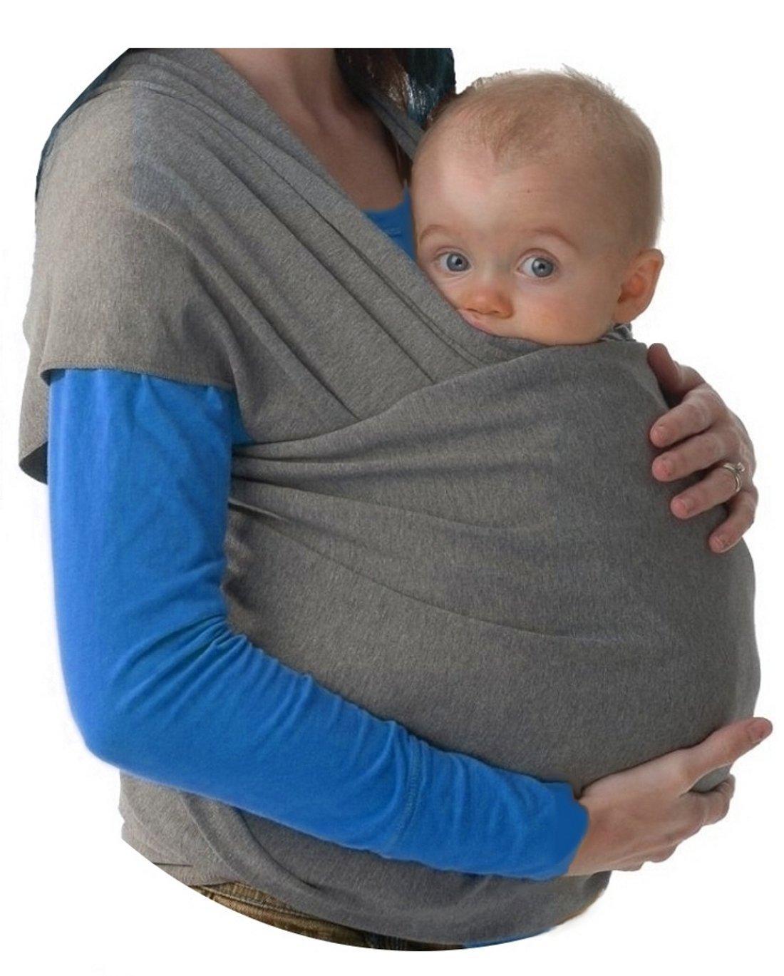 Fular portabebés elastico para llevar al bebé | fulares para hombre y mujer | Lleve a
