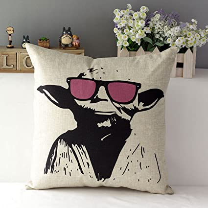 Pleasant Tavasdecor 17 Star Wars Home Sofa Chair Couch Decorative Throw Pillow Case Cushion Cover Master Yoda Creativecarmelina Interior Chair Design Creativecarmelinacom