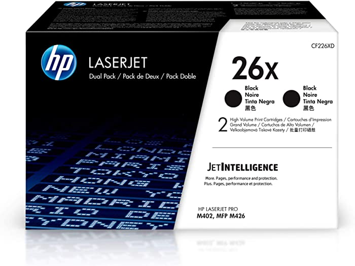 Top 9 Hp Color Laserjet Pro Mfp M277 Ink Catridges