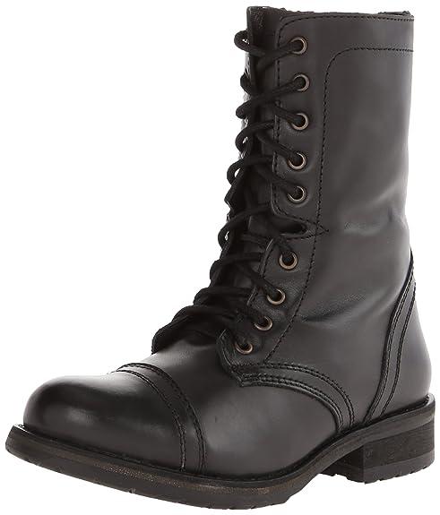 Amazon.com | Steve Madden Women's Troopa 2.0 Combat Boot | Ankle ...