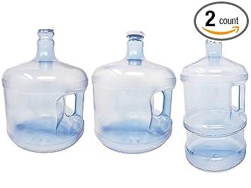 Amazon.com: Juego de 2 botellas de agua reutilizables de ...