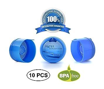 e535f8d3e Amazon.com: Premium Water Cooler Bottle Caps - Quantity of 10 -Fits ...