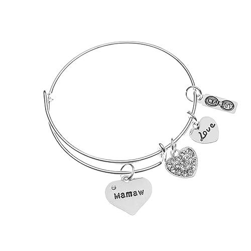 amazon com mamaw bracelet mamaw jewelry grandma jewelry makes