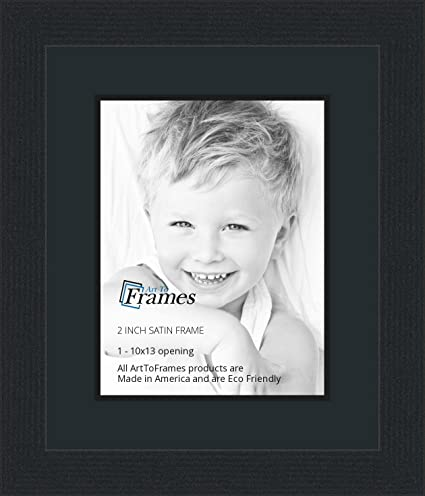 Amazon 10x13 10 X 13 Picture Frame Satin Black 2 Wide