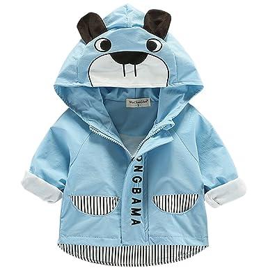 reich und großartig farblich passend Für Original auswählen Bebone Baby Junge Jacke Frühjahr Sommer Übergangsjacke mit Kapuze