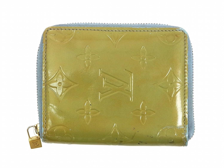 [ルイヴィトン] LOUIS VUITTON 二つ折り財布 ヴェルニ M91016 パテントレザー X9555 中古 B01AL6DF9A