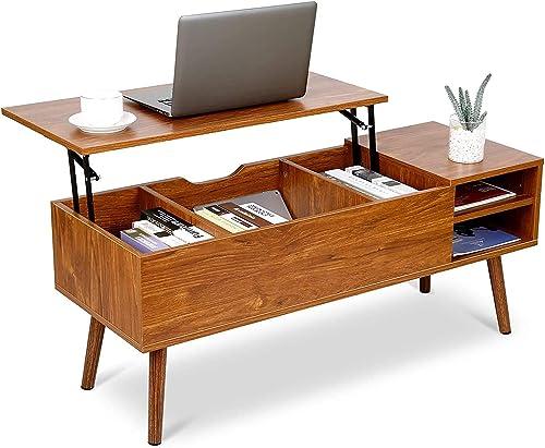 amzdeal Modern Lift Top Coffee Table