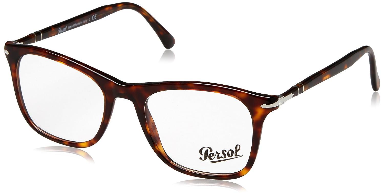 Persol 0PO3188V, Monturas de Gafas para Mujer, Havana, 51: Amazon.es: Ropa y accesorios