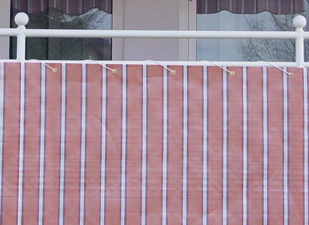 Lunghezza: 6 Metro 75 cm Angerer Paravista per Balcone Design No 1300 Marrone-Terra