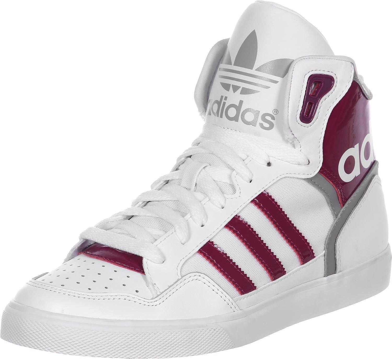 adidas Originals Extaball White High Top Trainers