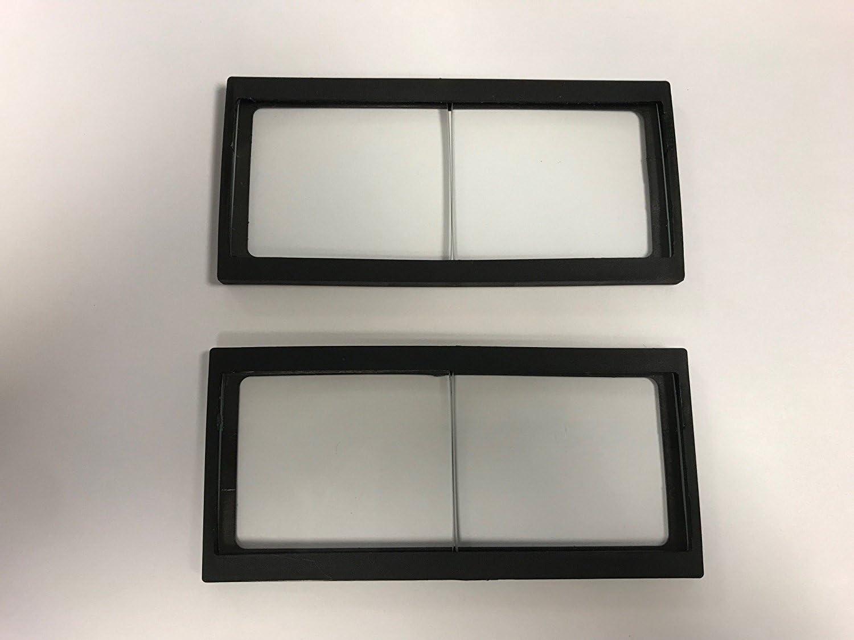 4,25 2 unidades cristal 2 lentes Lupa para casco de soldadura 2,50 dioptr/ías